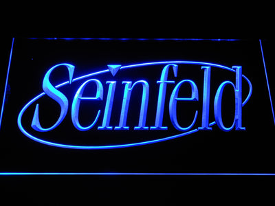 Seinfeld LED Neon Sign - Blue - SafeSpecial