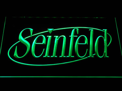 Seinfeld LED Neon Sign - Green - SafeSpecial