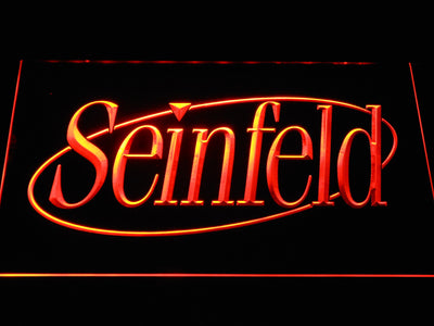 Seinfeld LED Neon Sign - Orange - SafeSpecial