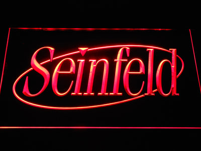 Seinfeld LED Neon Sign - Red - SafeSpecial