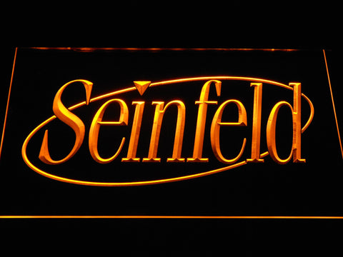 Seinfeld LED Neon Sign - Yellow - SafeSpecial