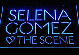 Selena Gomez & The Scene LED Neon Sign - Blue - SafeSpecial