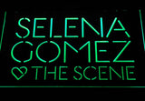 Selena Gomez & The Scene LED Neon Sign - Green - SafeSpecial