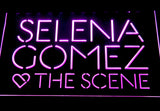Selena Gomez & The Scene LED Neon Sign - Purple - SafeSpecial