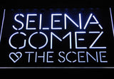Selena Gomez & The Scene LED Neon Sign - White - SafeSpecial