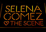 Selena Gomez & The Scene LED Neon Sign - Yellow - SafeSpecial