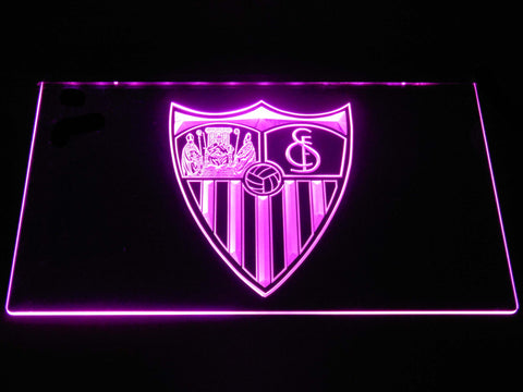 Image of Sevilla FC LED Neon Sign - Purple - SafeSpecial
