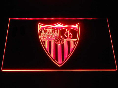 Image of Sevilla FC LED Neon Sign - Red - SafeSpecial