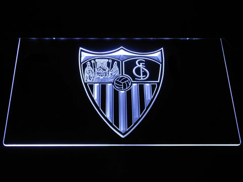 Image of Sevilla FC LED Neon Sign - White - SafeSpecial