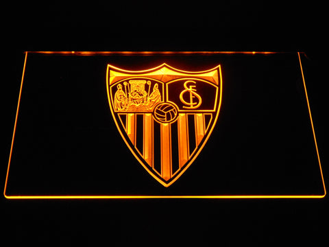 Image of Sevilla FC LED Neon Sign - Yellow - SafeSpecial