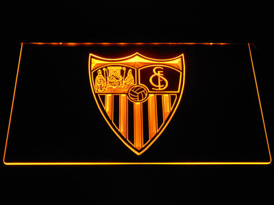 Sevilla FC LED Neon Sign - Yellow - SafeSpecial