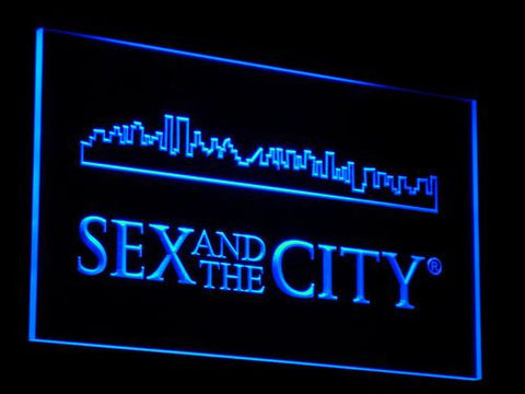 Image of Sex And The City LED Neon Sign - Blue - SafeSpecial