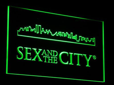 Sex And The City LED Neon Sign - Green - SafeSpecial