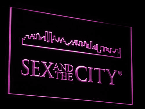 Image of Sex And The City LED Neon Sign - Purple - SafeSpecial