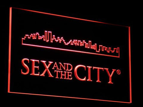 Image of Sex And The City LED Neon Sign - Red - SafeSpecial
