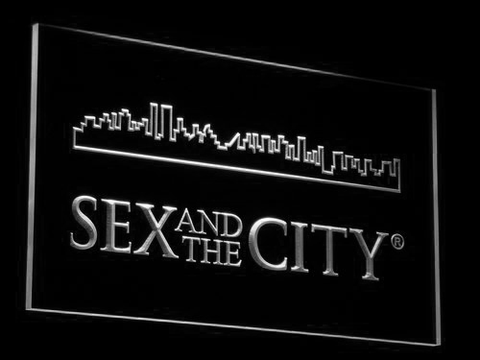Image of Sex And The City LED Neon Sign - White - SafeSpecial