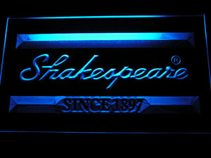 Shakespeare LED Neon Sign - Blue - SafeSpecial