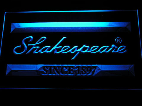 Image of Shakespeare LED Neon Sign - Blue - SafeSpecial