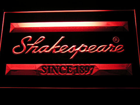 Image of Shakespeare LED Neon Sign - Red - SafeSpecial