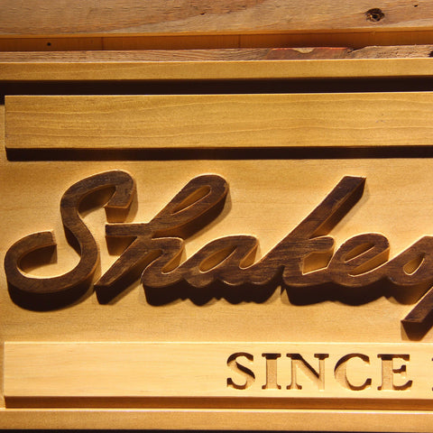 Image of Shakespeare Wooden Sign - - SafeSpecial