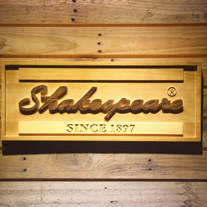 Shakespeare Wooden Sign - Small - SafeSpecial