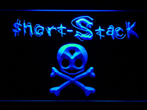Image of Short Stack LED Neon Sign - Blue - SafeSpecial