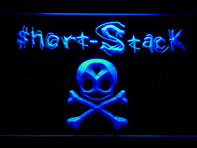 Short Stack LED Neon Sign - Blue - SafeSpecial