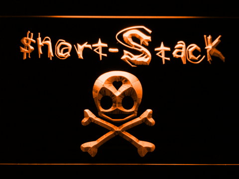 Image of Short Stack LED Neon Sign - Orange - SafeSpecial