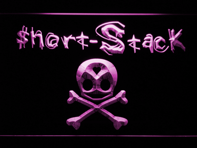 Short Stack LED Neon Sign - Purple - SafeSpecial