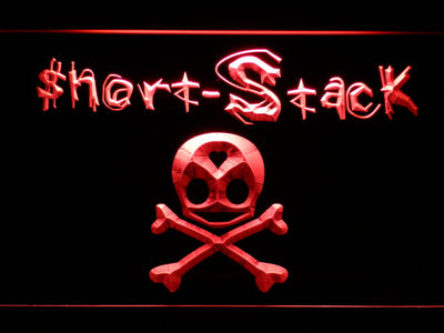 Short Stack LED Neon Sign - Red - SafeSpecial