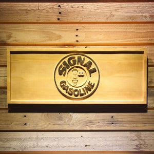 Signal Gasoline Wooden Sign - Small - SafeSpecial
