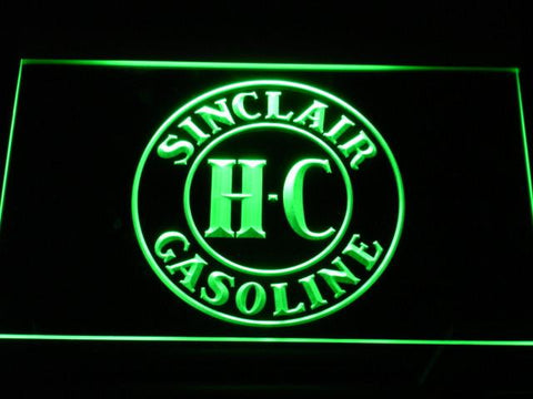 Image of Sinclair Gasoline LED Neon Sign - Green - SafeSpecial