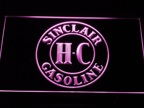 Image of Sinclair Gasoline LED Neon Sign - Purple - SafeSpecial