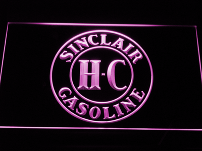 Sinclair Gasoline LED Neon Sign - Purple - SafeSpecial