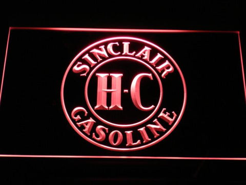 Image of Sinclair Gasoline LED Neon Sign - Red - SafeSpecial
