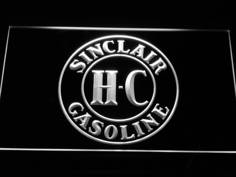 Image of Sinclair Gasoline LED Neon Sign - White - SafeSpecial