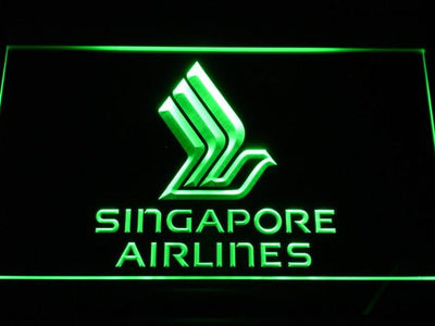 Singapore Airlines LED Neon Sign - Green - SafeSpecial