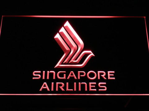 Image of Singapore Airlines LED Neon Sign - Red - SafeSpecial