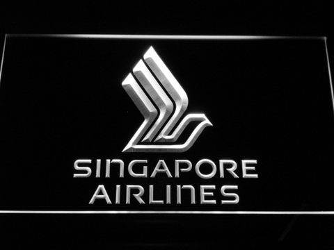 Image of Singapore Airlines LED Neon Sign - White - SafeSpecial