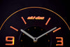 Ski Doo Modern LED Neon Wall Clock - Yellow - SafeSpecial