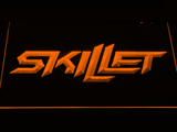 Skillet LED Neon Sign - Orange - SafeSpecial