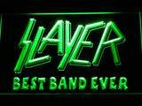 Slayer Best Band Ever LED Neon Sign - Green - SafeSpecial
