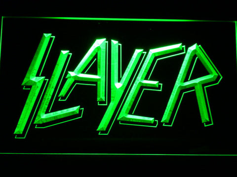 Image of Slayer LED Neon Sign - Green - SafeSpecial
