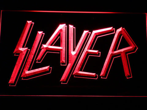 Slayer LED Neon Sign - Red - SafeSpecial
