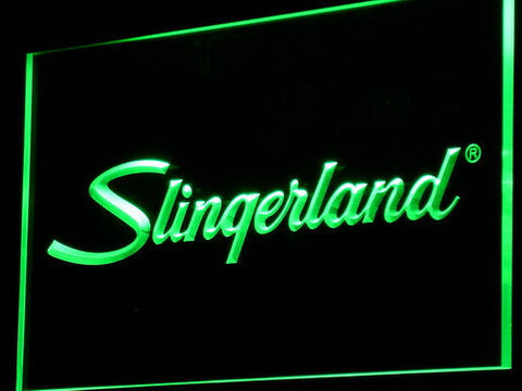 Image of Slingerland LED Neon Sign - Green - SafeSpecial
