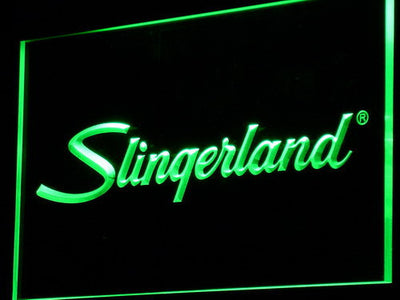 Slingerland LED Neon Sign - Green - SafeSpecial