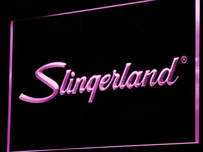 Slingerland LED Neon Sign - Purple - SafeSpecial