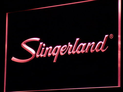Image of Slingerland LED Neon Sign - Red - SafeSpecial