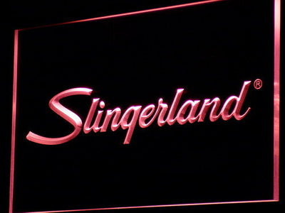 Slingerland LED Neon Sign - Red - SafeSpecial