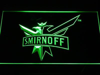 Smirnoff LED Neon Sign - Green - SafeSpecial